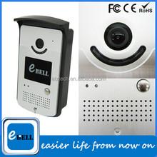 2015 720P Wi-Fi Doorbell Camera Smart Home Waterproof IP66 Nightvision IR 3M