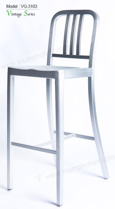 Triumph New Aluminum Coffee Shop Chairs Special Design
