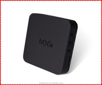 Factory directly sale Quad Core Amlogic Android 4.4 MXQ OTT TV Box