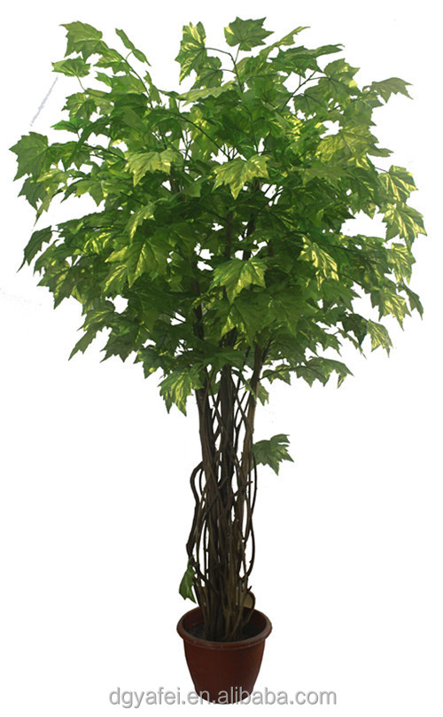 New d coratif r aliste artificielle mini bonsa arbres - Arbre decoratif exterieur ...