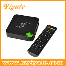 Best Android AML8726-android 4.2.2 Dual Core 1080p android smart tv box DVB-T2 media player