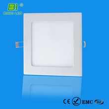 HOT SALE! High CRI>80 DALI/DMX dimmable 3000-3500k d150*h21mm 9w round led panel light