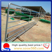 High quality hot galvanized steel farm gate