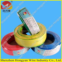 300\/500 copper conductor PVC insulated house wiring electric cables made in china