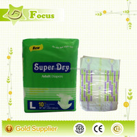 Cute Daily Disposable Adult Diaper in Bale adult diapers with design for Hospital