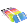 Dual Color Candy Soft TPU Case for Samsung I8552 Galaxy Win With a Stand