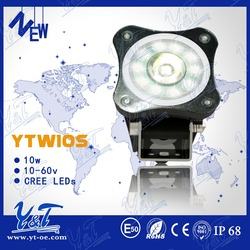 10W LED Motorcycle Work Lights for police motorcycle advanced LED light bulbs truckled long lifespan led motorcycle light