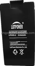 solar gel battery 2v 600ah FM rechargeable battery 2v 600ah deep cycle battery