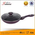 Easy clean capa de cerámica de aluminio ollas Wok Pan