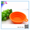 BL-10366 Silicone Collapsible Compact Pet Feeding Bowl Dog Cat Travel Dish