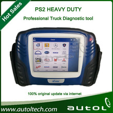 Universal Truck Scanner XTool PS2 Truck Diagnostic Tool Support Multi Brand Truck + Update Online