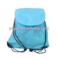 190T Nylon drawstring bag/waterproof drawstring back pack
