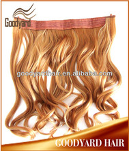 Loose wave brazilian virgin hair flip in hair extension wholesale