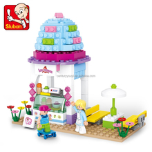 Sluban plastic blocks intelligent toy interesting products 2015 action figures toys