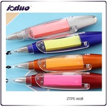 2015 Cheaper Creative Stationery Sales Hang Rope Notes LED Lights A Ball-point Pen