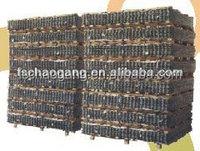 Compression mattress spring