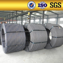 Low Relaxation 12.7mm PC Strand For Overhead Crane Beam