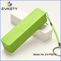(Factory direct) Promotional Gift perfume 2600mah power bank,Mini Keychain Manual for Power Bank Battery Charger