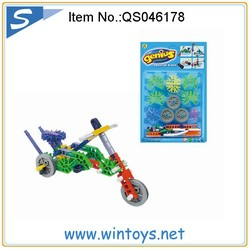 Electric Blocks toy plastic building brick truck 56pcs set