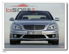 Front Bumper Mercedes Benz W221 S Class AMG S63 Style body kit design for Benz 06-10