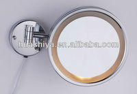 HSY-2028 lighted makeup mirror 10x make up mirror