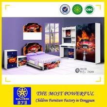 Factory price 2015 hot-sale children bedroom furniture, kids car bedroom set