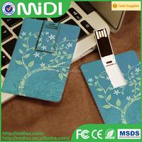 good quality plastic credit usb flash drive, wholesale usb stick with logo print