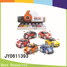 Diecast Pull Back car with light and music 1:28 Alloy car ,toys for children