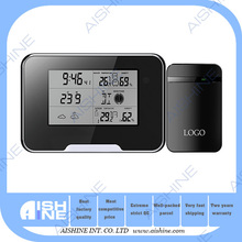 New product motion detection wireless clock radio video hidden wireless digital thermometer camera