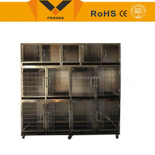 2015 Wholesale stainless steel pet dog cages for sale
