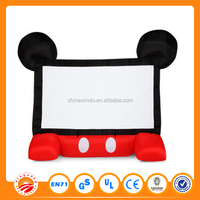New design hot sell outdoor movie screen for sale