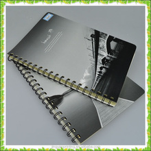 Retail 520 Brand Black / White Genre Note Book with YO