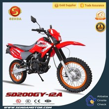 Top Selling Motorcycle Chongqing Motorcycle 200cc Dirt Bike HyperBiz SD200GY-12A