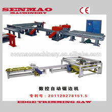 máquina de la carpintería borde de corte de sierra