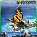 Animales de simulación de alta de grado para tema de la mariposa del AA