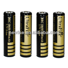 UltraFire 18650 3.7V Protected Rechargeable Battery 4000mAh