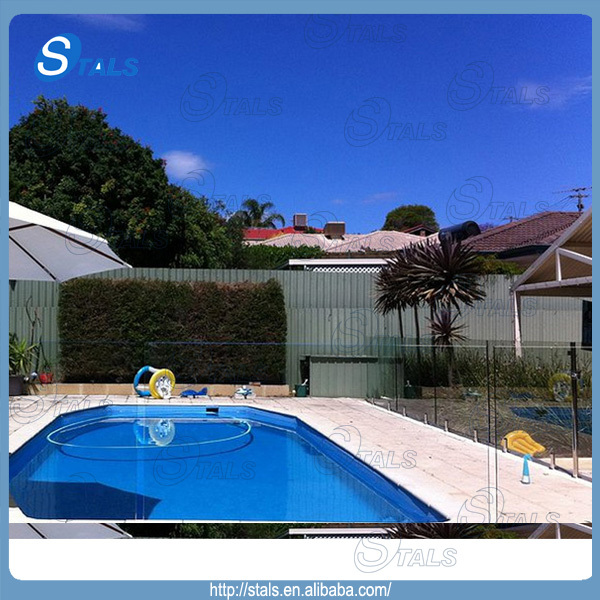 Swimming pool fence glass spigot buy swimming pool fence for Pool design company radom polen
