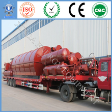 XD 20 tons High profit scrap plastic pyrolysis to crude oil