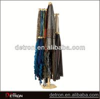 2014 Hot wooden scarf display rack