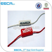Wholesale plastic hang tags for clothing/seal tag made in China
