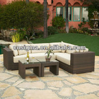 2014 New design poly bali synthetic rattan outdoor rattan chairs miami