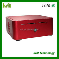 Desktop computer cabinet S197-H80 horizontal mini pc case wholesale