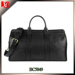 High quality travel genuine leather shoulder bag us polo travel bag parts