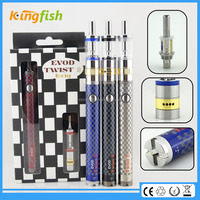New variable voltage ecig airflow control evod twist 3 m16 dry herb vaporizer pen vapor max for china wholesale