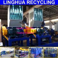 hot sale large output plastic film crushing and washing machinery