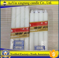 home decoration candle oil for sex Pure White Candles hot sell