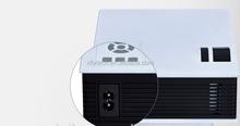 Newest UC40 Mini Pico led Projector AV VGA A/V USB & SD native 1920x1080 projector