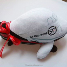 High quality custom stuffed plush flying toy plane