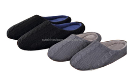 2016 ladies hand knitting house soft sole slippers