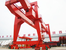 Good price ISO9001 provided 100 Ton Double Girder Gantry Crane on sale